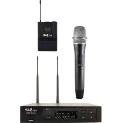 Picture of CAD Audio UHF Wireless Cardioid Dynamic Handheld Microphone System w/D90 Capsule