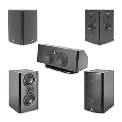 Picture of Atlantic Technology 4400 C 2-way Speaker - 150 W RMS - Satin Black