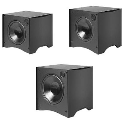 Picture of Atlantic Technology 444 SB 325 W RMS Woofer - 1 Pack - Satin Black