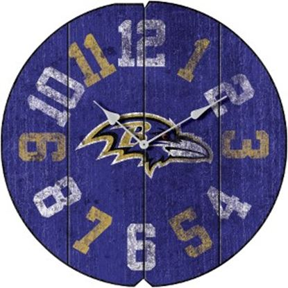 Picture of Imperial Baltimore Ravens Vintage Round Clock