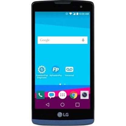 "Picture of FreedomPop LG Tribute 2 8 GB Smartphone - 4.5"" VGA - 1 GB RAM - Android 5.1 Lollipop - 4G - Blue"