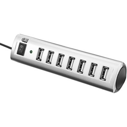 Picture of Adesso 7-ports USB 2.0 Hub with 5V2A Power Adaptor