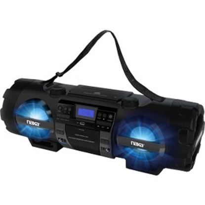 Picture of Naxa MP3/CD Bass Reflex Boombox & PA System with Bluetooth