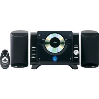 Picture of Naxa NS-435 Micro Hi-Fi System - 4.40 W RMS - iPod Supported - Black