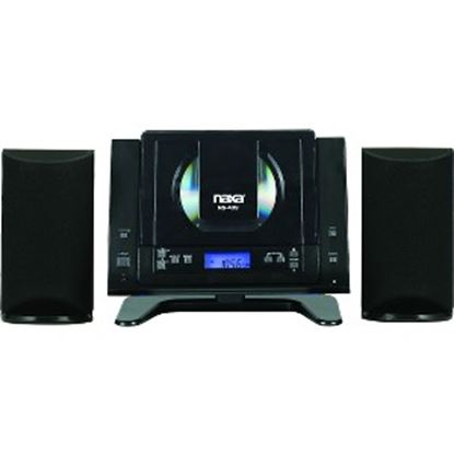 Picture of Naxa NS-439 Micro Hi-Fi System - 4.40 W RMS - Black