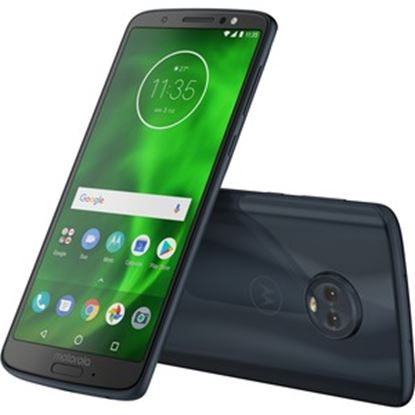 """Picture of Motorola Moto G⁶ 32 GB Smartphone - 5.7"""" LCD Full HD Plus 1080 x 2160 - 3 GB RAM - Android 8.0 Oreo - 4G - Oyster"""