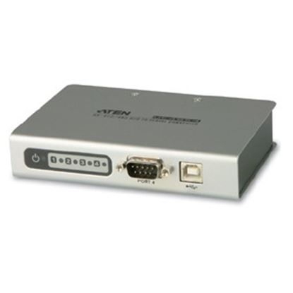 Picture of Aten UC4854 4-port USB-to-Serial RS-422/485 Hub
