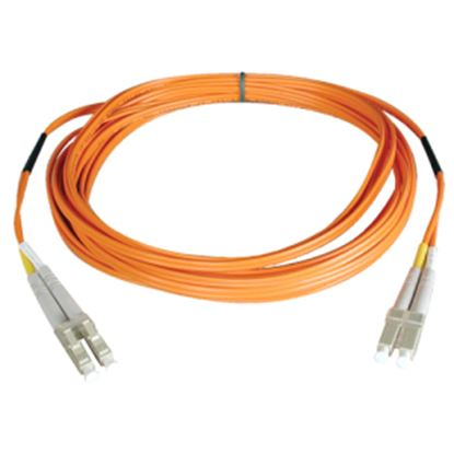Picture of Tripp Lite 0.3M Duplex Multimode 62.5/125 Fiber Optic Patch Cable LC/LC 1' 1ft 0.3 Meter