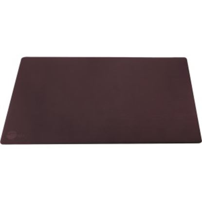 Picture of SIIG Large Artificial Leather Smooth Desk Mat Protector - Dark Brown