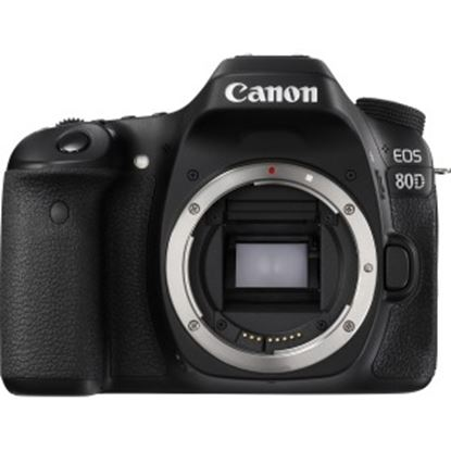 Picture of Canon EOS 80D 24.2 Megapixel Digital SLR Camera Body Only - Black