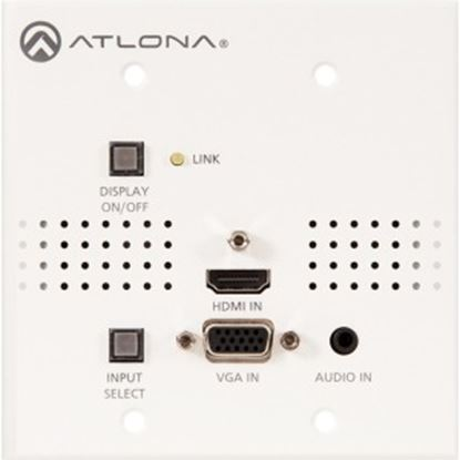 Picture of Atlona Two-Input Wall Plate Switcher for HDMI and VGA Sources with HDBaseT Output