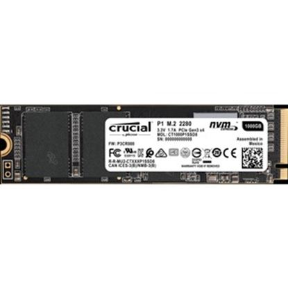 Picture of Crucial 1 TB Solid State Drive - M.2 2280 Internal - PCI Express