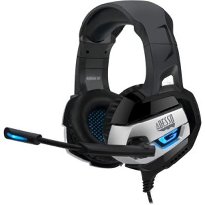 Picture of Adesso Stereo USB Gaming Headset with Microphone