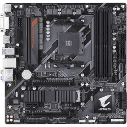 Picture of Aorus Ultra Durable B450 AORUS M Desktop Motherboard - AMD Chipset - Socket AM4 - Micro ATX
