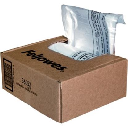 Picture of Fellowes Waste Bags for Small Office / Home Office Shredders