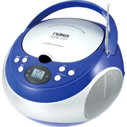 Picture of Naxa Portable CD Player with AM/FM Stereo Radio