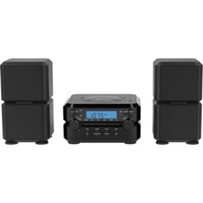 Picture of Naxa NS-441 Micro Hi-Fi System - 4.40 W RMS - Black