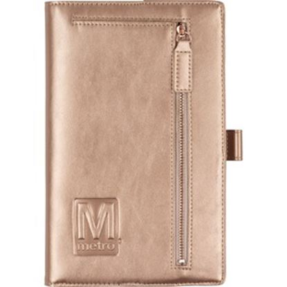 Picture of Samsill Compact Padfolio Notebook with Accessory Zipper Pocket