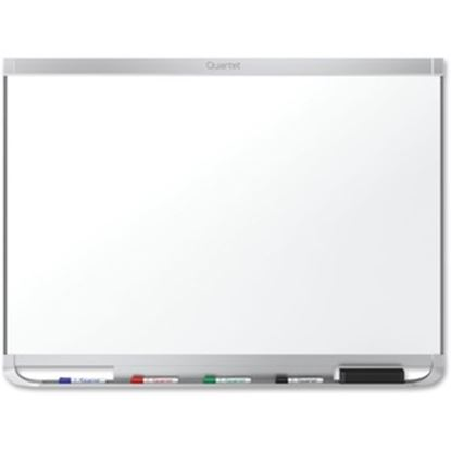 Picture of Quartet® Prestige® 2 DuraMax® Porcelain Magnetic Whiteboard, 8' x 4', Aluminum Frame