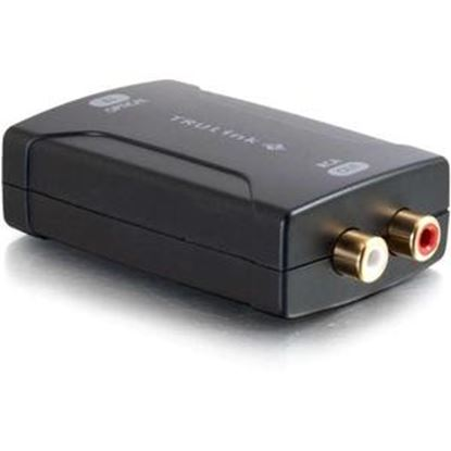 Picture of C2G Toslink to RCA Analog Audio Converter (DAC)