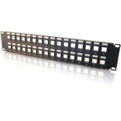 Picture of C2G 32-Port Blank Keystone/Multimedia Patch Panel