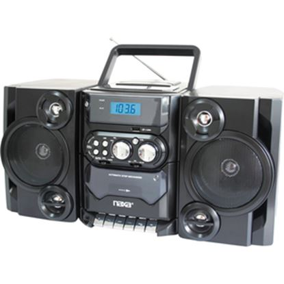 Picture of Naxa NPB-428 Mini Hi-Fi System - 5 W RMS - Black