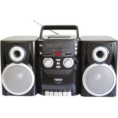 Picture of Naxa NPB-426 Mini Hi-Fi System - 16 W RMS - iPod Supported - Black