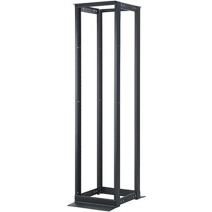 Picture of C2G 45U 4-Post Adjustable Open Frame Rack - 21-32in Depth (TAA Compliant)