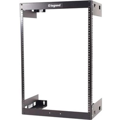 Picture of C2G 15U Wall Mount Open Frame Rack - 18in Deep (TAA Compliant)