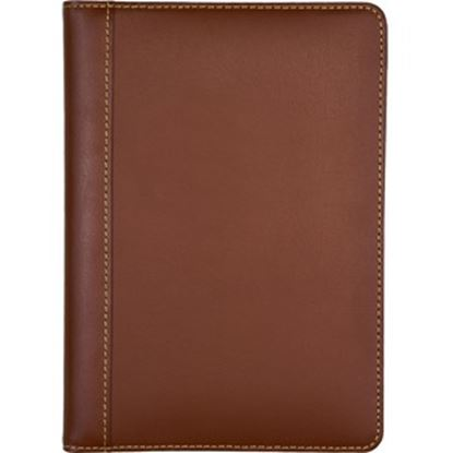 Picture of Samsill Contrast Stitch Leather Junior Padfolio