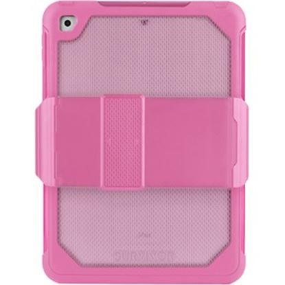 """Picture of Griffin Survivor Extreme Carrying Case (Holster) for 9.7"""" Apple iPad Air 2, iPad Pro, iPad Air, iPad (5th Generation) Tablet - Pink Tint"""