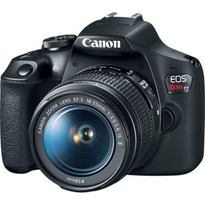 Picture of Canon EOS Rebel T7 24.1 Megapixel Digital SLR Camera with Lens - 18 mm - 55 mm
