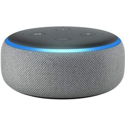 Picture of Amazon Echo Dot (3rd Generation) Bluetooth Smart Speaker - Alexa Supported - Heather Gray