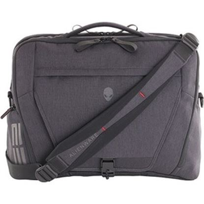 """Picture of Mobile Edge Alienware Carrying Case (Briefcase) for 17.3"""" Alienware Notebook - Gray, Black"""