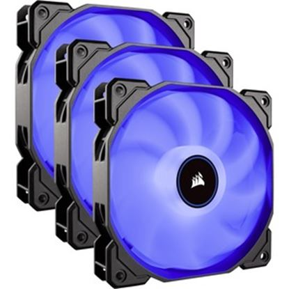 Picture of Corsair Air Series AF120 LED (2018) Blue 120mm Fan Triple Pack - 3 Pack
