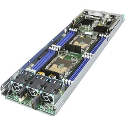 Picture of Intel HNS2600BPBR Barebone System - 2U Rack-mountable - Intel C621 Chipset - 1 Number of Node(s) - 2 x Processor Support