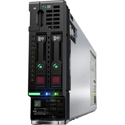 Picture of HPE ProLiant BL460c G10 Blade Server - 2 x Xeon Gold 6248 - 64 GB RAM HDD SSD - 12Gb/s SAS Controller