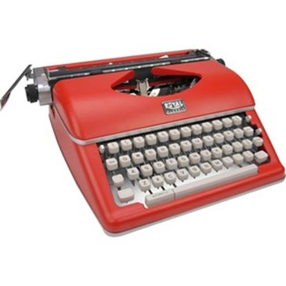 Picture of Royal Classic Manual Typewriter - Red