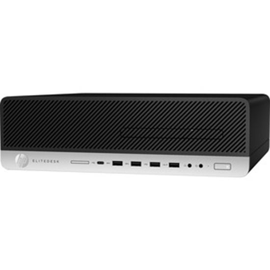 Picture of HP EliteDesk 800 G5 Desktop Computer - Intel Core i5 9th Gen i5-9500 3 GHz - 8 GB RAM DDR4 SDRAM - 1 TB HDD - Small Form Factor