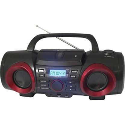 Picture of Naxa MP3/CD Boombox with Bluetooth