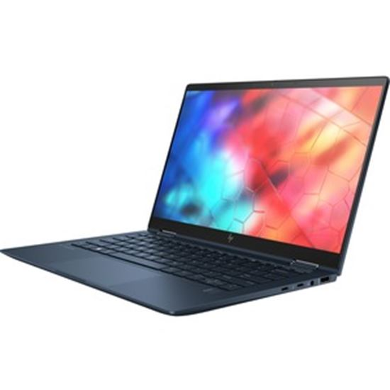 """Picture of HP Elite Dragonfly 13.3"""" Touchscreen 2 in 1 Notebook - Intel Core i7 (8th Gen) i7-8665U Quad-core (4 Core) 1.90 GHz - 16 GB RAM - 512 GB SSD - Blue"""