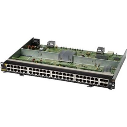 Picture of Aruba 6400 48-Port 1GbE Class 4 PoE and 4-Port SFP56 Module
