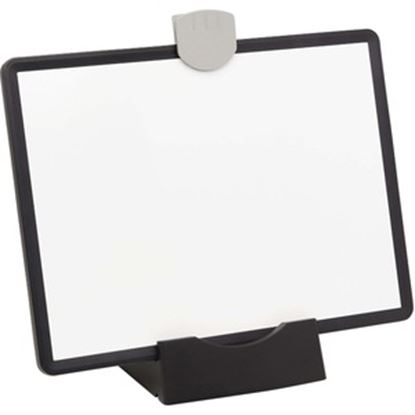 Picture of Tripp Lite Magnetic Dry-Erase Whiteboard with Stand & 3 Markers Black Frame