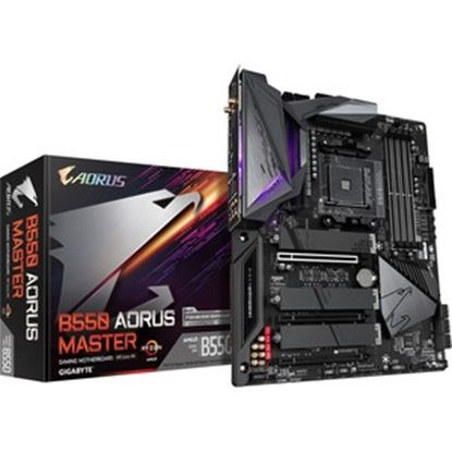 Picture of Aorus Ultra Durable B550 AORUS MASTER Desktop Motherboard - AMD Chipset - Socket AM4 - ATX