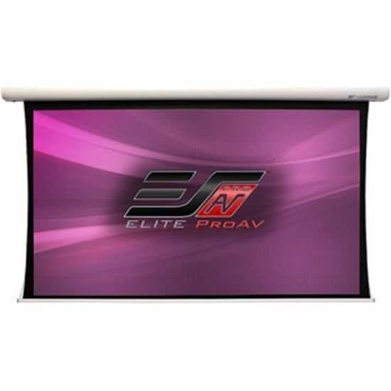 """Picture of Elite ProAV Saker Tab-Tension SKTP120UH-DUAL 120"""" Electric Projection Screen"""