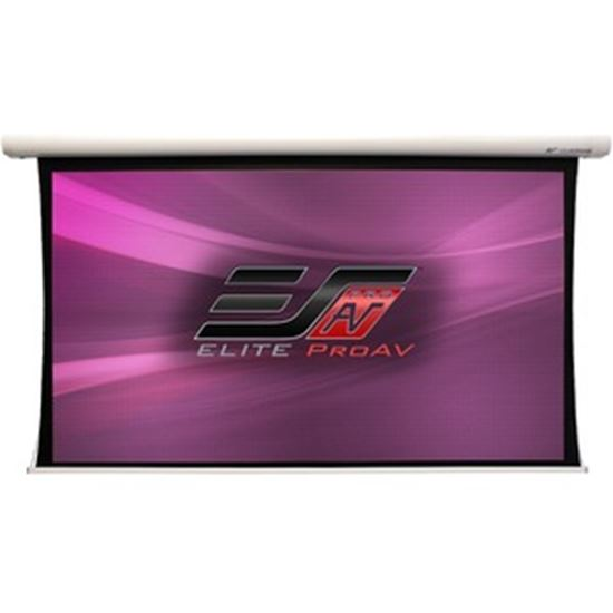 """Picture of Elite ProAV Saker Tab-Tension SKTP135UH-DUAL 135"""" Electric Projection Screen"""