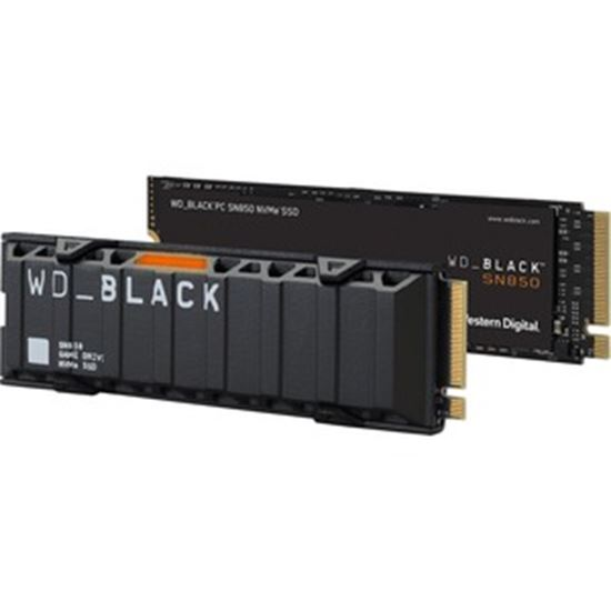 Picture of WD Black SN850 WDS500G1X0E-00AFY0 500 GB Solid State Drive - M.2 2280 Internal - PCI Express NVMe (PCI Express NVMe 4.0 x4)