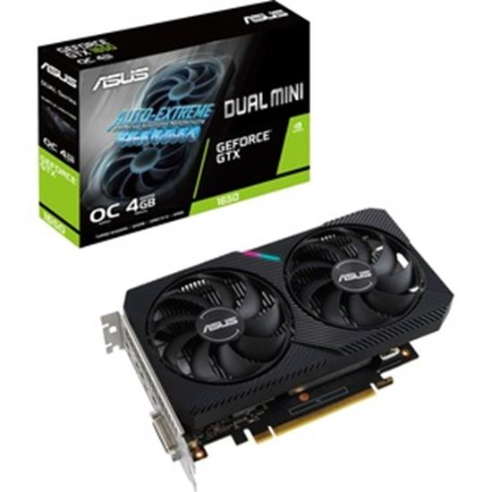 Picture of Asus Dual DUAL-GTX1650-O4GD6-MINI GeForce GTX 1650 Graphic Card - 4 GB GDDR6