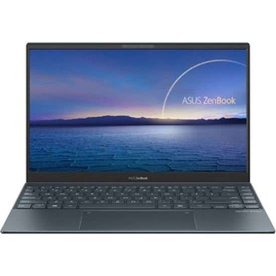 """Picture of Asus ZenBook 13 UX325 UX325EA-DH71 13.3"""" Notebook - Full HD - 1920 x 1080 - Intel Core i7 (11th Gen) i7-1165G7 Quad-core (4 Core) 2.80 GHz - 8 GB RAM - 512 GB SSD - Pine Gray"""
