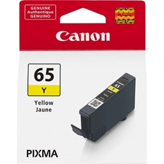 Picture of Canon CLI-65 Original Ink Cartridge - Yellow